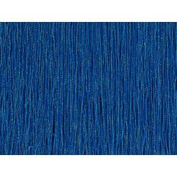 STRETCH IRIDESCENT FRINGE 30CM ELEC BLUE