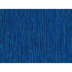 STRETCH IRIDESCENT FRINGE 30CM ELEC BLUE