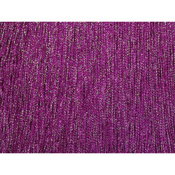 STRETCH IRIDESCENT FRINGE 30CM F-PINK