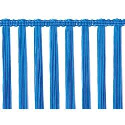 STRETCH TASSEL FRINGE 30CM ELECTRIC BLUE
