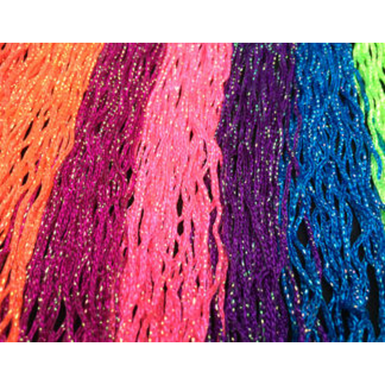 STRETCH IRIDESCENT FRINGE