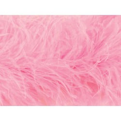 PURE OSTRICH LUXURY 6 PLY BOA SUGAR PINK