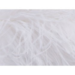 PURE OSTRICH LUXURY 6 PLY BOA WHITE