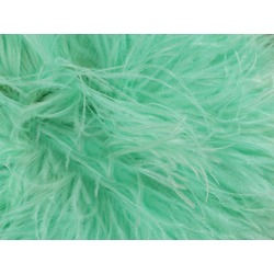 OSTRICH FEATHER FRINGE SPEARMINT
