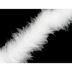 MARABOU BOA WHITE