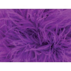 OSTRICH FEATHER FRINGE HOT MAGENTA