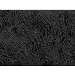TACTEL FRINGE 15CM BLACK
