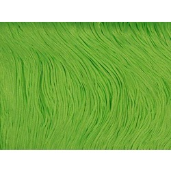 TACTEL FRINGE 45CM ELECTRIC GREEN