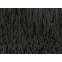 TACTEL FRINGE 60CM BLACK