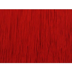 TACTEL FRINGE 45CM RED