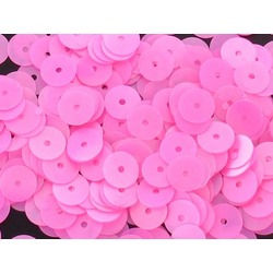 8MM LOOSE SEQUINS BRIGHT PINK