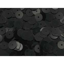 24MM LOOSE SEQUINS BLACK