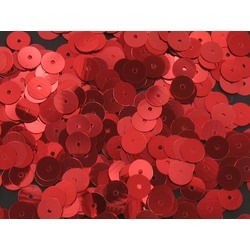 24MM LOOSE SEQUINS RED