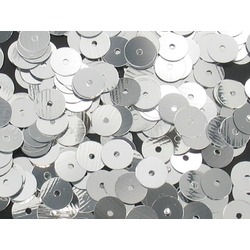 24MM LOOSE SEQUINS SILVER