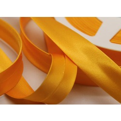 2CMS SATIN BIAS BINDING MANGO