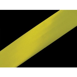 SATIN BIAS BINDING 19MM FLORESCENT YELLOW