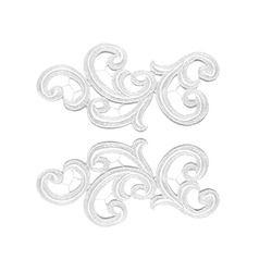 EMMA GUIPURE LACE MOTIF WHITE
