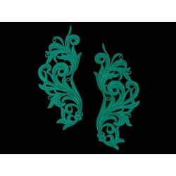 FREEDOM MOTIF PAIR JADE