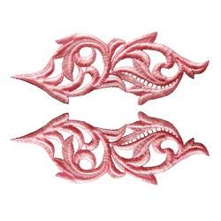 HEARTLEAF GUIPURE MOTIF ROSE PINK