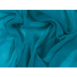 LUXURY GEORGETTE BLUE ZIRCON
