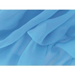 LUXURY GEORGETTE CRYSTAL BLUE