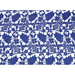 CLOVER ALLOVER LACE-SAPPHIRE