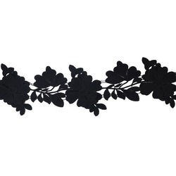 BLOSSOM RIBBON BLACK