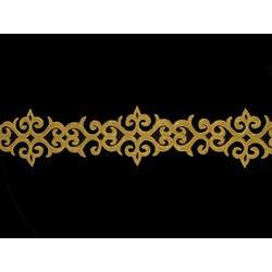 TRIBAL METALLIC RIBBON GOLD