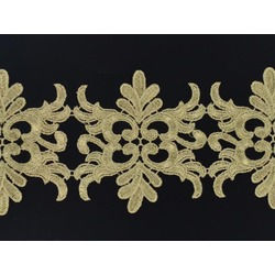 BAROQUE RIBBON METALLIC GOLD