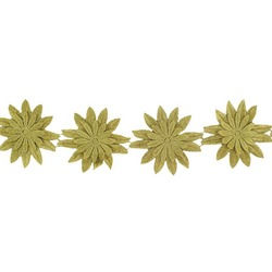 SUNFLOWER RIBBON VINTAGE GOLD