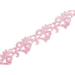 VICTORIA GUIPURE RIBBON ROSE PINK