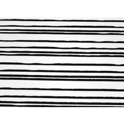 VINE STRETCH CREPE WHITE-BLACK