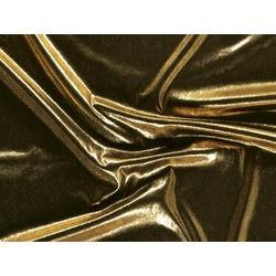 STRETCH ANTIQUE SHIMMER GOLD ON BLACK