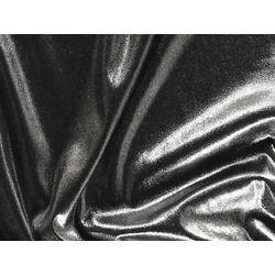 STRETCH ANTIQUE SHIMMER SILVER ON BLACK
