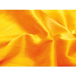 STRETCH SATIN SAFFRON