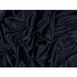 STRETCH SATIN BLACK