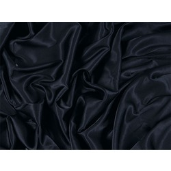 STRETCH SATIN BLACK