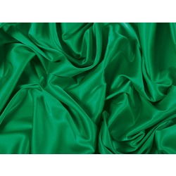 STRETCH SATIN EMERALD