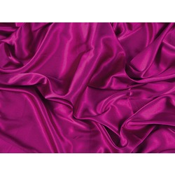 STRETCH SATIN FUCHSIA PINK