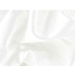 STRETCH SATIN WHITE