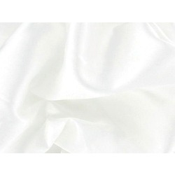 STRETCH SATIN WHITE