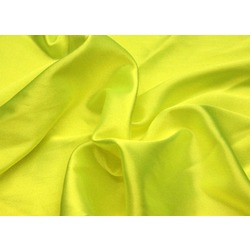 STRETCH SATIN TROPIC LIME