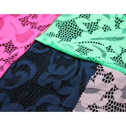 GEOMETRIC STRETCH LACE