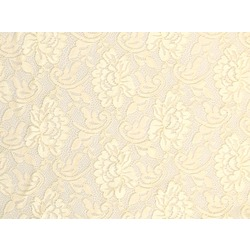 FLOWER STRETCH LACE CREAM