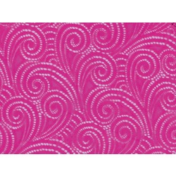 SWIRL STRETCH LACE ELECTRIC PINK