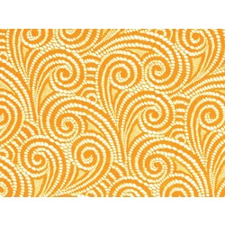 SWIRL STRETCH LACE SAFFRON