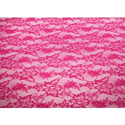 VALENTINA STRETCH LACE FUCHSIA