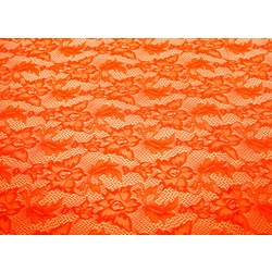 VALENTINA STRETCH LACE ORANGE