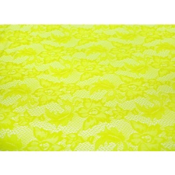 VALENTINA STRETCH LACE T-LIME