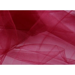 SOFT TULLE-BURGUNDY